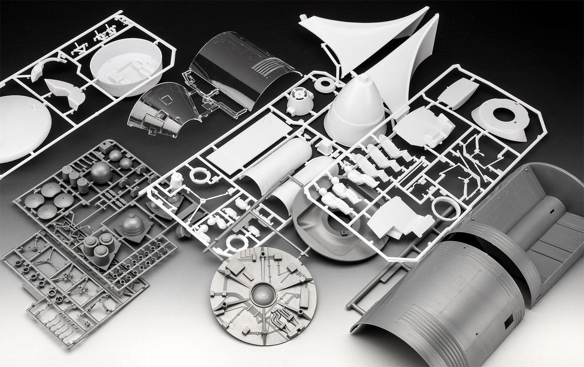 Apollo 11 - Módulo Colúmbia com interior visível - 1/32 - Revell 03703  - BLIMPS COMÉRCIO ELETRÔNICO