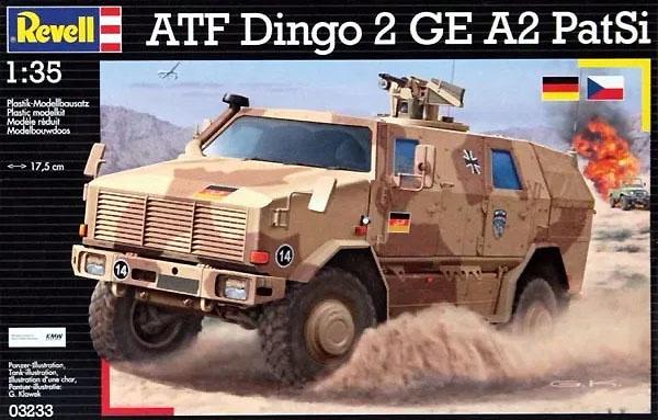 ATF Dingo 2 GE A2 PatSi - 1/35 - Revell 03233  - BLIMPS COMÉRCIO ELETRÔNICO