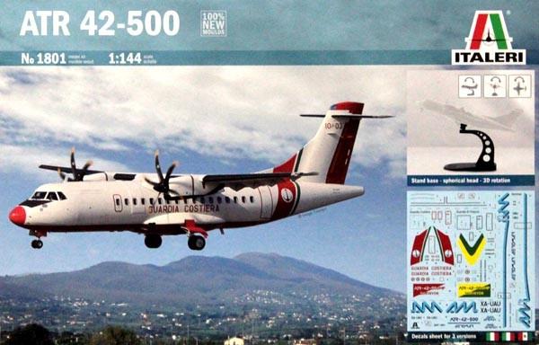 ATR 42-500 - 1/144 - Italeri 1801  - BLIMPS COMÉRCIO ELETRÔNICO