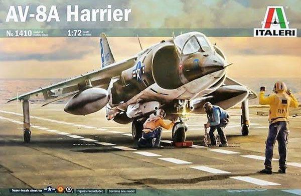 AV-8A Harrier - 1/72 - Italeri 1410  - BLIMPS COMÉRCIO ELETRÔNICO