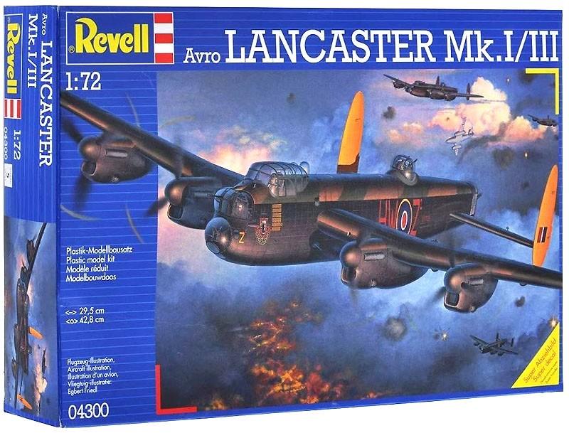 Avro Lancaster Mk.I/III - 1/72 - Revell 04300  - BLIMPS COMÉRCIO ELETRÔNICO