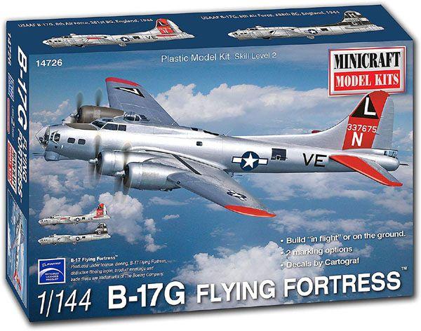 B-17G Flying Fortress - 1/144 - Minicraft 14726  - BLIMPS COMÉRCIO ELETRÔNICO
