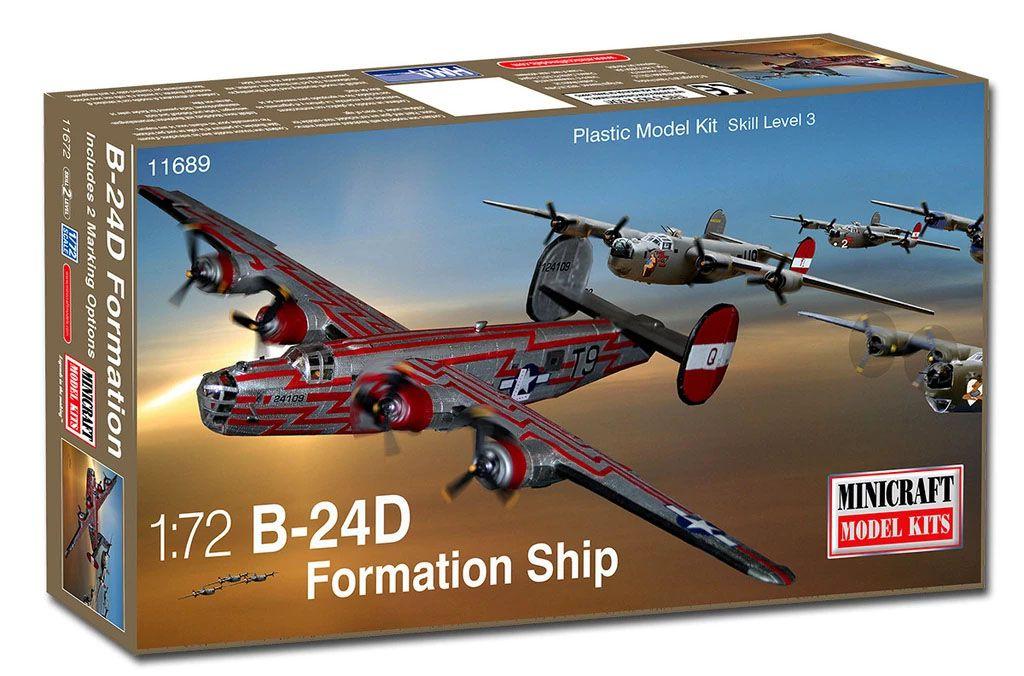 B-24D Formation Ship - 1/72 - Minicraft 11689  - BLIMPS COMÉRCIO ELETRÔNICO