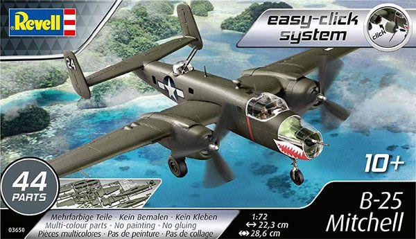B-25 Mitchell - 1/72 - Revell 03650  - BLIMPS COMÉRCIO ELETRÔNICO