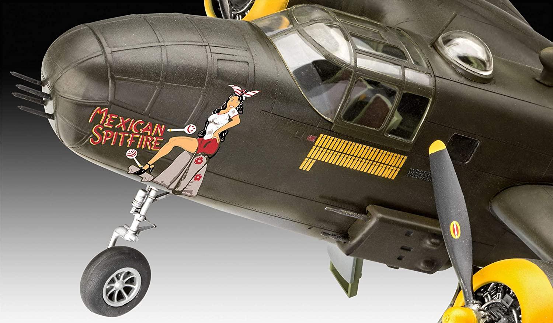 B-25D Mitchell - 1/48 - Revell 04977  - BLIMPS COMÉRCIO ELETRÔNICO