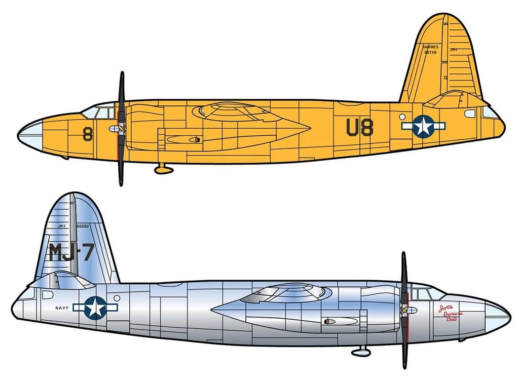 B-26 Marauder JM-1 USN - 1/144 - Minicraft 14690  - BLIMPS COMÉRCIO ELETRÔNICO