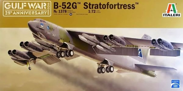 B-52G Stratofortress - Guerra do Golfo - 1/72 - Italeri 1378