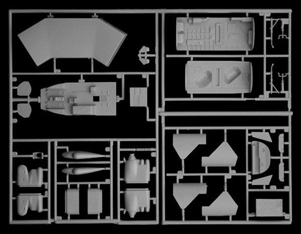 B-52G Stratofortress - Guerra do Golfo - 1/72 - Italeri 1378  - BLIMPS COMÉRCIO ELETRÔNICO