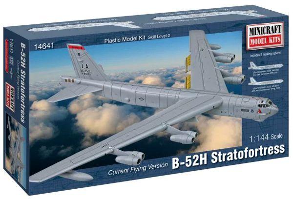 B-52H Stratofortress - 1/144 - Minicraft 14641  - BLIMPS COMÉRCIO ELETRÔNICO