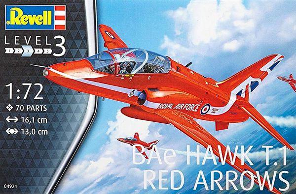 BAe Hawk T.1 Red Arrows - 1/72 - Revell 04921  - BLIMPS COMÉRCIO ELETRÔNICO