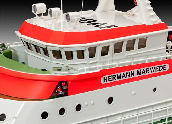 Barco de busca e salvamento Hermann Marwede - 1/72 - Revell 05220  - BLIMPS COMÉRCIO ELETRÔNICO