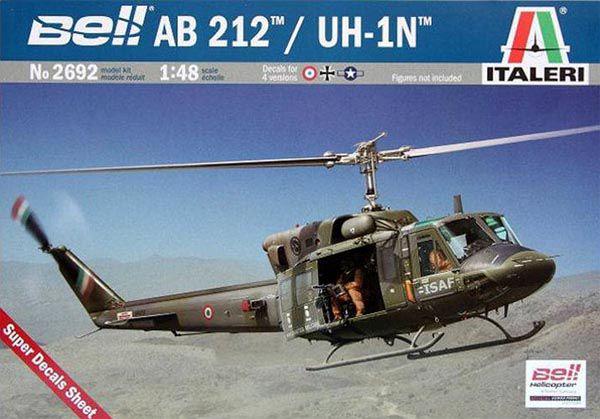 Bell AB 212 / UH-1N - 1/48 - Italeri 2692  - BLIMPS COMÉRCIO ELETRÔNICO