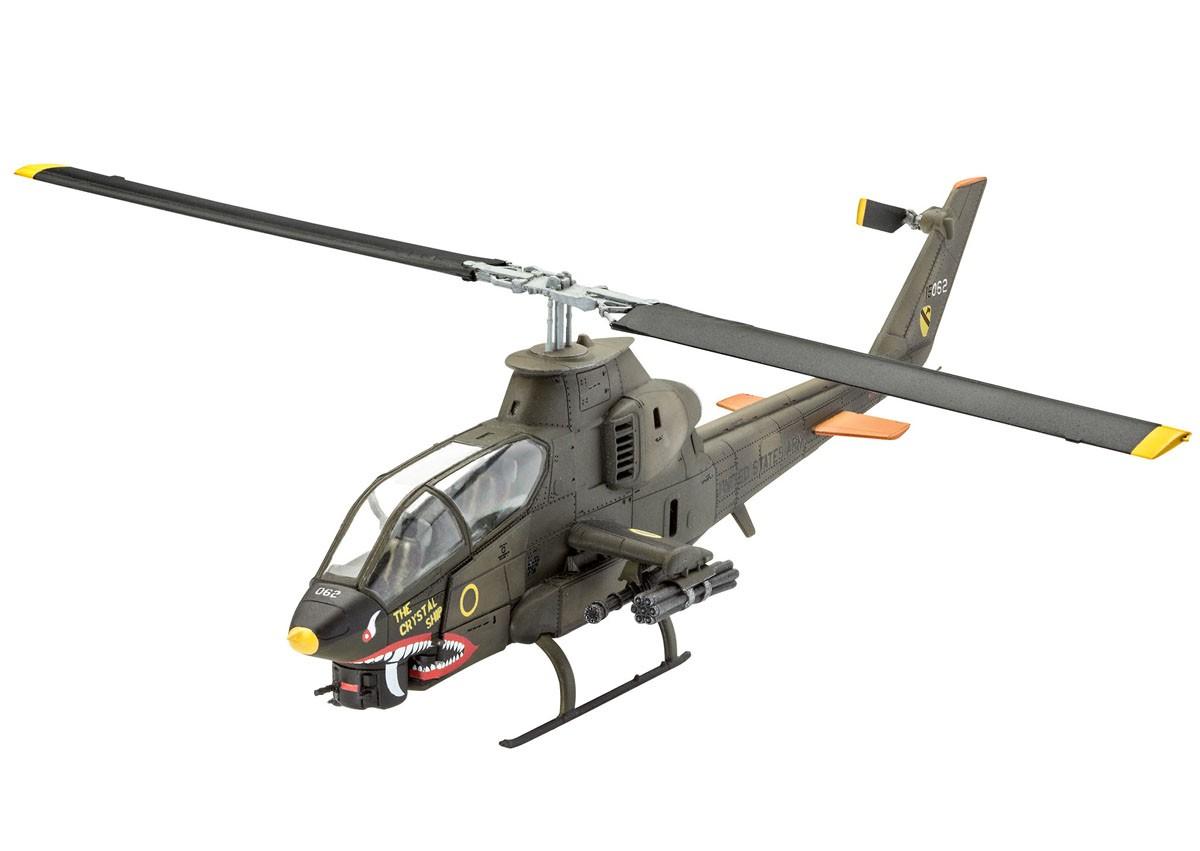 Bell AH-1G Cobra - 1/72 - Revell 04956  - BLIMPS COMÉRCIO ELETRÔNICO