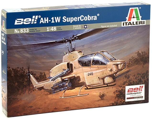 Bell AH-1W Super Cobra - 1/48 - Italeri 833  - BLIMPS COMÉRCIO ELETRÔNICO