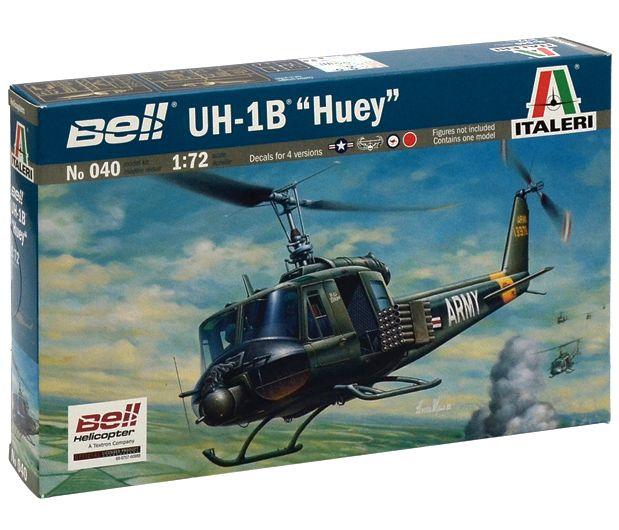 Bell UH-1B Huey - 1/72 - Italeri 040  - BLIMPS COMÉRCIO ELETRÔNICO