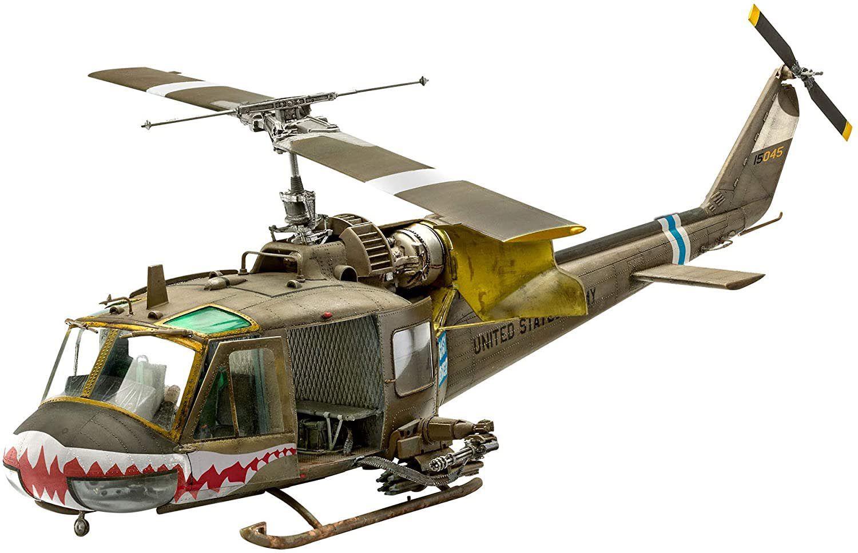 Bell UH-1C - 1/35 - Revell 04960  - BLIMPS COMÉRCIO ELETRÔNICO
