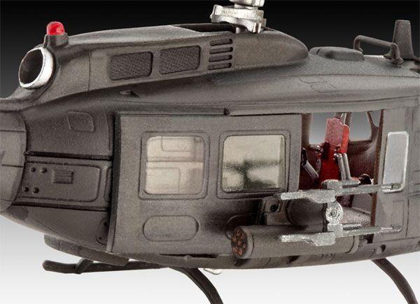 Bell UH-1H Gunship - 1/100 - Revell 04983  - BLIMPS COMÉRCIO ELETRÔNICO