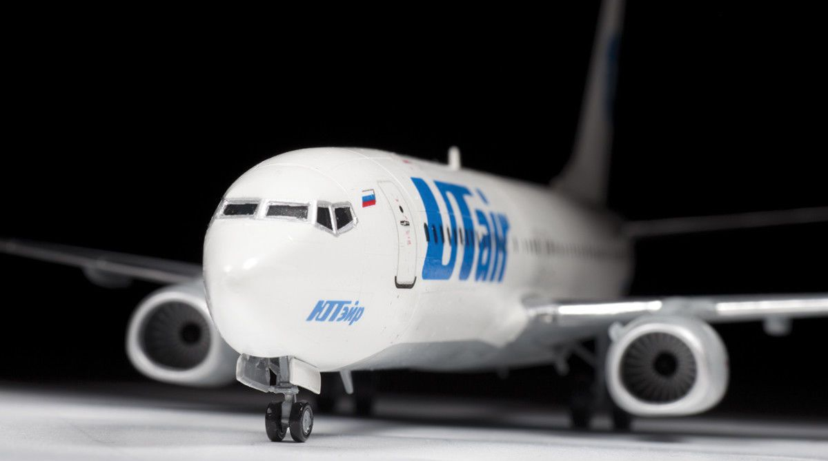 Boeing 737-800 - 1/144 - Zvezda 7019  - BLIMPS COMÉRCIO ELETRÔNICO