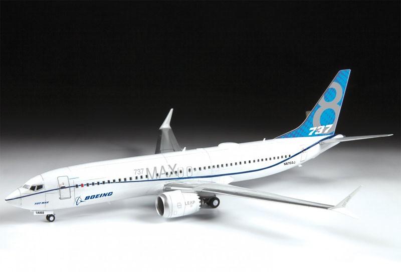 Boeing 737-8 MAX - 1/144 - Zvezda 7026  - BLIMPS COMÉRCIO ELETRÔNICO