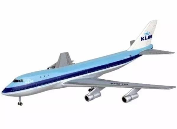Boeing 747-200 - 1/450 - Revell 03999  - BLIMPS COMÉRCIO ELETRÔNICO