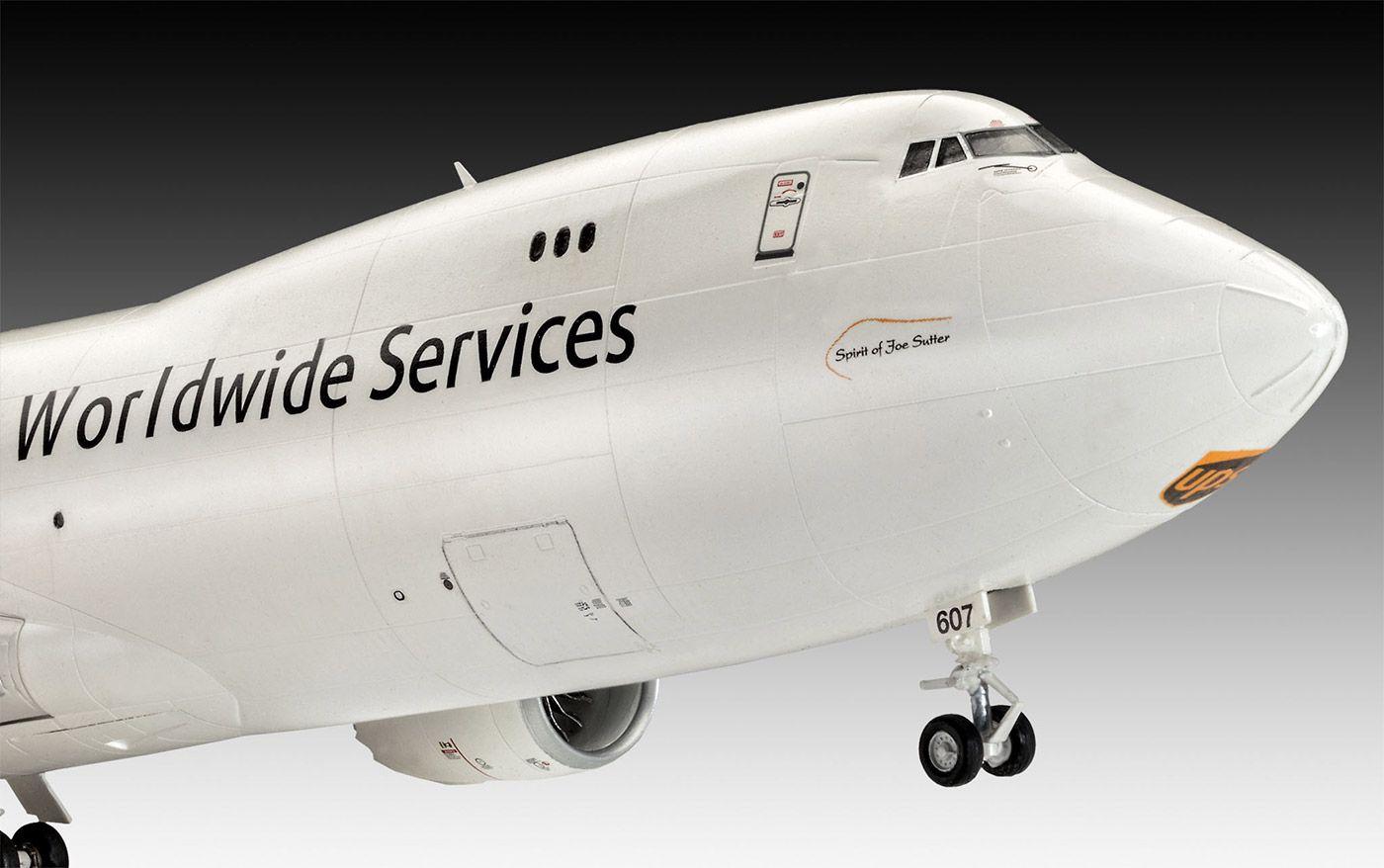 Boeing 747-8F UPS - 1/144 - Revell 03912  - BLIMPS COMÉRCIO ELETRÔNICO