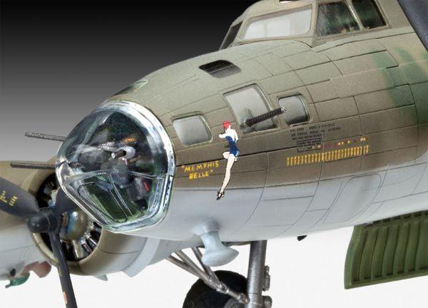 Boeing B-17F ´Memphis Belle´ - 1/72 - Revell 04279  - BLIMPS COMÉRCIO ELETRÔNICO
