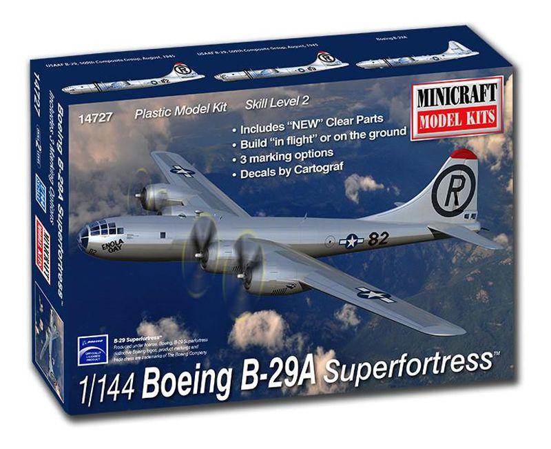 Boeing B-29A Superfortress - 1/144 - Minicraft 14727  - BLIMPS COMÉRCIO ELETRÔNICO