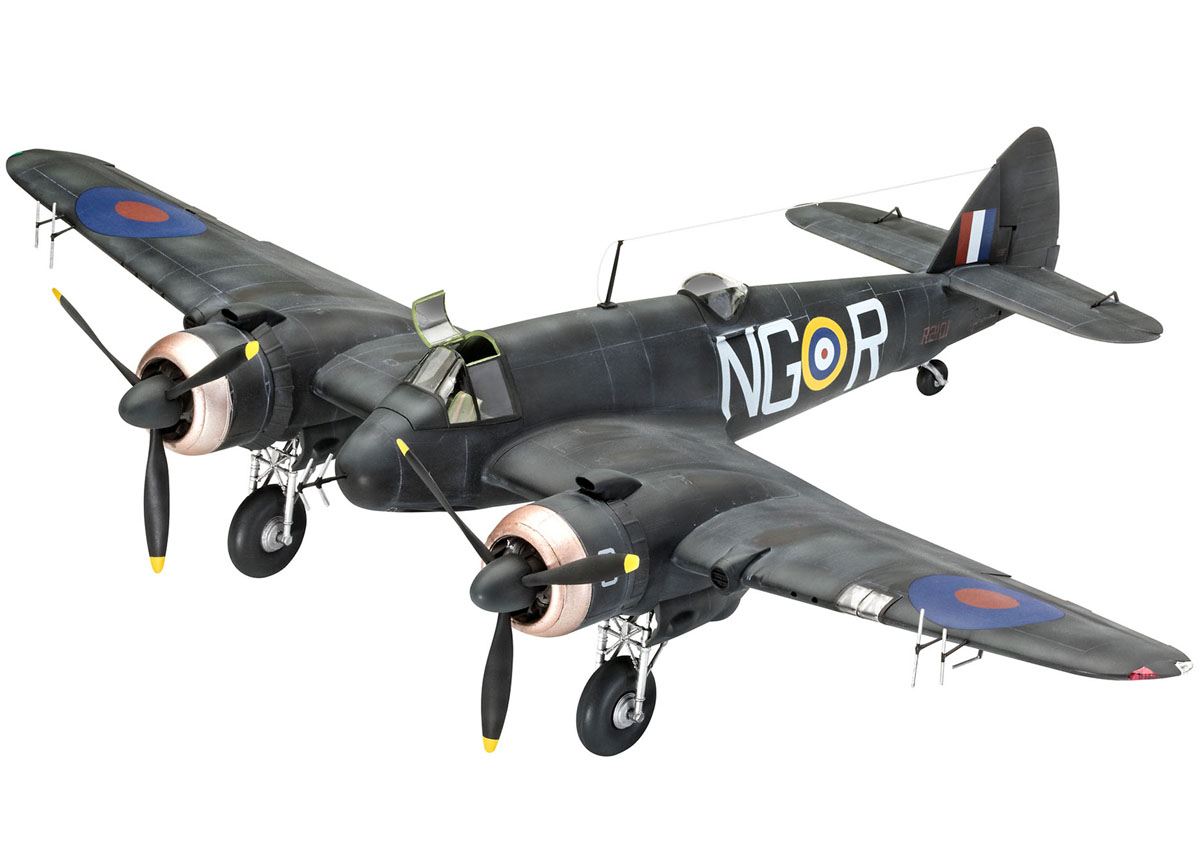 Bristol Beaufighter IF Nightfighter - 1/48 - Revell 03854  - BLIMPS COMÉRCIO ELETRÔNICO