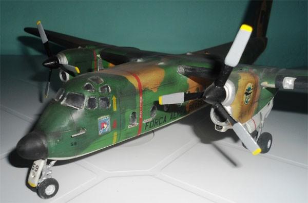 C-115 Buffalo CAF/FAB - 1/72 - GIIC  - BLIMPS COMÉRCIO ELETRÔNICO
