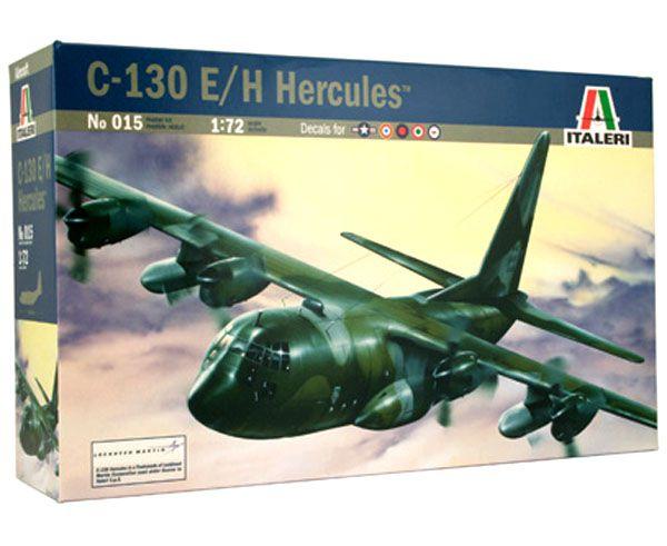 C-130E/H Hercules - 1/72 - Italeri 015  - BLIMPS COMÉRCIO ELETRÔNICO