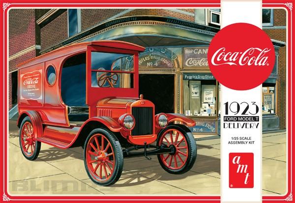 Caminhão de Coca-Cola Ford Model T 1923 - 1/25 - AMT 1024  - BLIMPS COMÉRCIO ELETRÔNICO