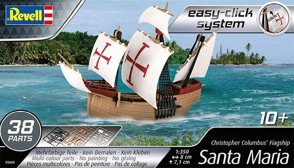 Caravela Santa Maria - 1/350 - Revell 05660  - BLIMPS COMÉRCIO ELETRÔNICO