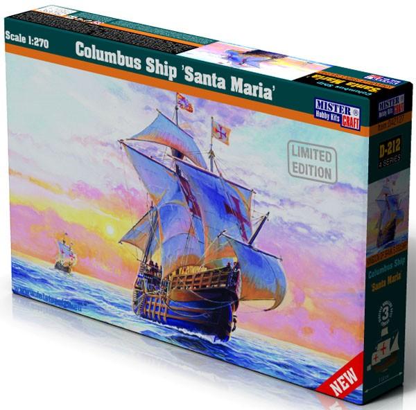 Caravela Santa Maria de Cristóvão Colombo - 1/270 - Mistercraft D-212  - BLIMPS COMÉRCIO ELETRÔNICO