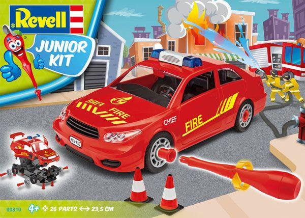 Carro Chefe de Bombeiro - 1/20 - Revell 00810  - BLIMPS COMÉRCIO ELETRÔNICO