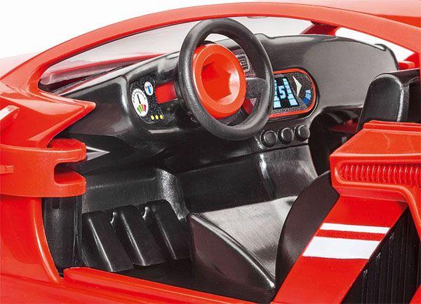 Carro de corrida vermelho - 1/20 - Revell 00800  - BLIMPS COMÉRCIO ELETRÔNICO
