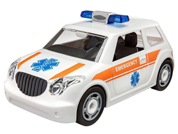 Carro de resgate - 1/20 - Revell 00805  - BLIMPS COMÉRCIO ELETRÔNICO