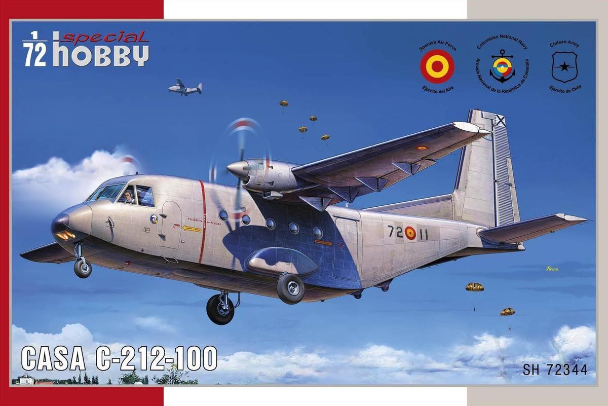 CASA C-212-100 - 1/72 - Special Hobby 72344  - BLIMPS COMÉRCIO ELETRÔNICO