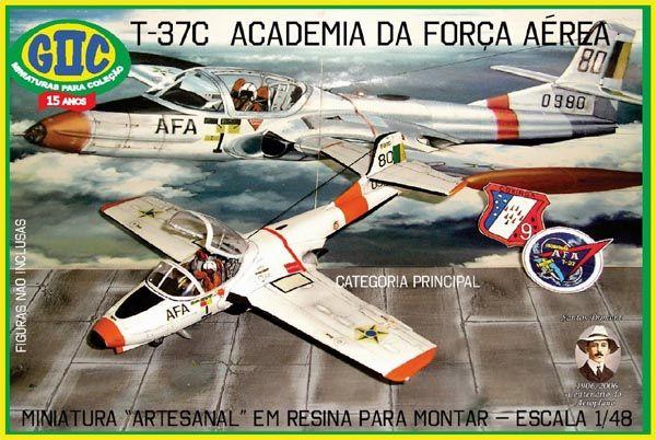 Cessna T-37C Academia da Força Aérea - 1/48 - GIIC  - BLIMPS COMÉRCIO ELETRÔNICO