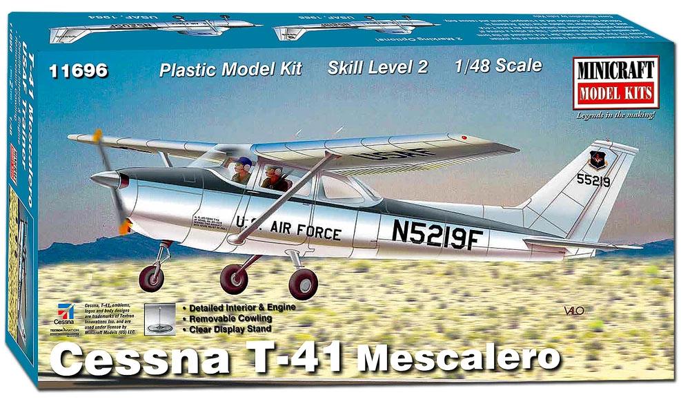 Cessna T-41 Mescalero - 1/48 - Minicraft 11696  - BLIMPS COMÉRCIO ELETRÔNICO
