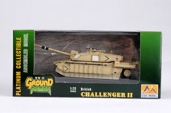 Challenger II - 1/72 - Easy Model 35012  - BLIMPS COMÉRCIO ELETRÔNICO