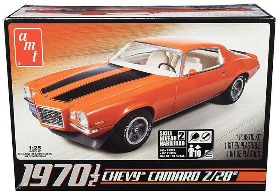 Chevy Camaro Z/28 1970 1/2 - 1/25 - AMT 635L  - BLIMPS COMÉRCIO ELETRÔNICO