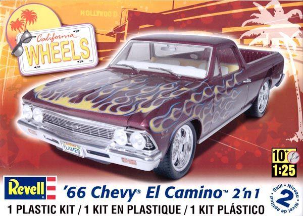 Chevy El Camino 1966 - 1/25 - Revell 85-2045  - BLIMPS COMÉRCIO ELETRÔNICO