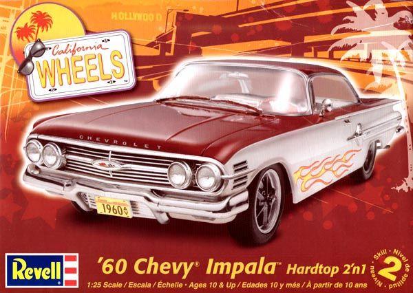 Chevy Impala 1960 - 1/25 - Revell 85-4248  - BLIMPS COMÉRCIO ELETRÔNICO