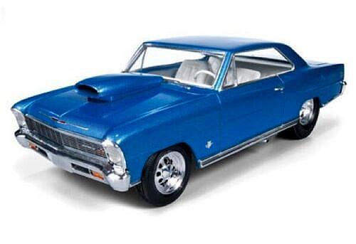 Chevy Nova Pro Street 1966 - 1/25 - AMT 636M  - BLIMPS COMÉRCIO ELETRÔNICO