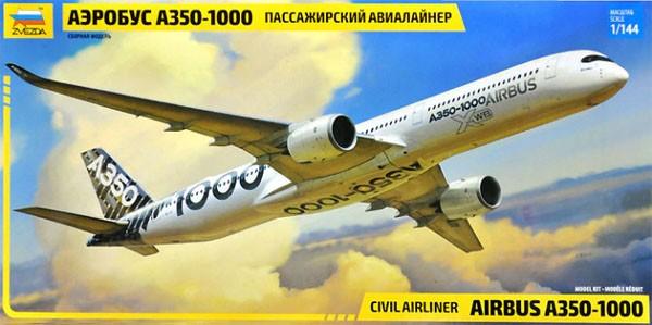 Civil Airliner Airbus A350-1000 - 1/144 - Zvezda 7020  - BLIMPS COMÉRCIO ELETRÔNICO