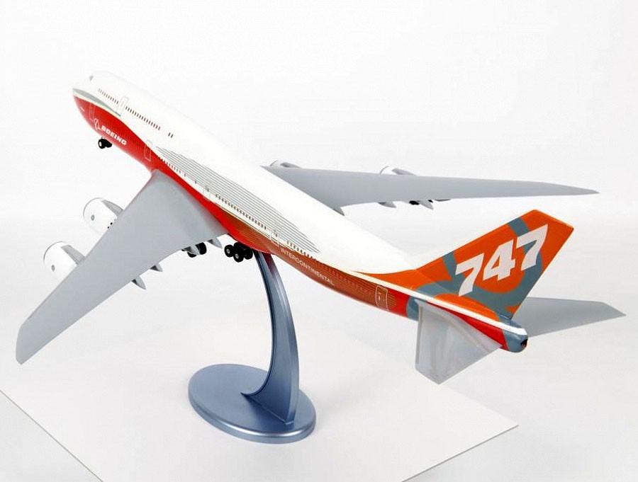 Civil Airliner Boeing 747-8 - 1/144 - Zvezda 7010  - BLIMPS COMÉRCIO ELETRÔNICO
