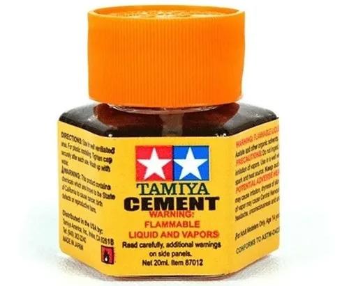 Cola Cement para modelismo (20 ml) - Tamiya 87012  - BLIMPS COMÉRCIO ELETRÔNICO