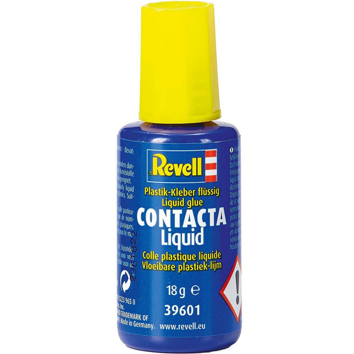 Cola Contacta Liquid - 18 g - Revell 39601  - BLIMPS COMÉRCIO ELETRÔNICO