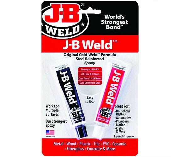 Cola Epóxi Ultraforte J-B Weld (2x 28,4g) - JB Weld 8265S  - BLIMPS COMÉRCIO ELETRÔNICO