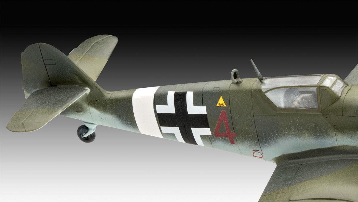 Combat Set Bf109 G-10 & Spitfire Mk.V - 1/72 - Revell 03710  - BLIMPS COMÉRCIO ELETRÔNICO